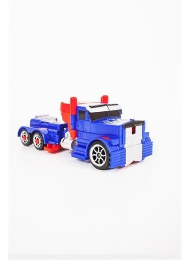 Furkan Duman Oyuncak Robota 5 Adımda Dönüşen Araba Mavi